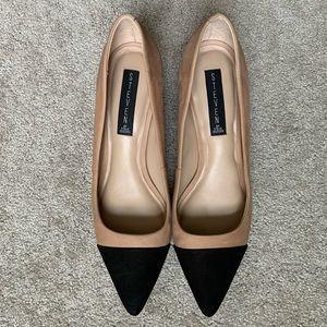 Steve Madden Joy suede cap toe pumps heels size 9